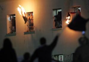 grecia sigue ardiendo