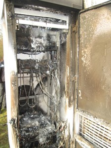Eschborn, Frankfurt: Arson attack against power and communication lines