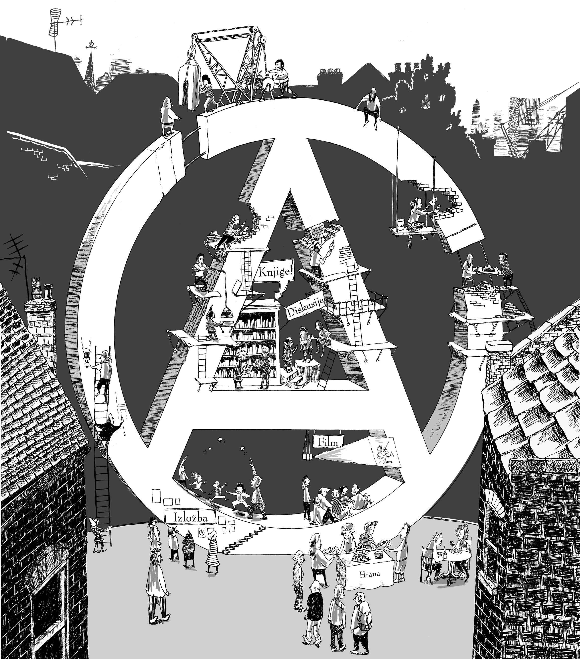 croatia zagreb anarchist bookfair 2018 contra info